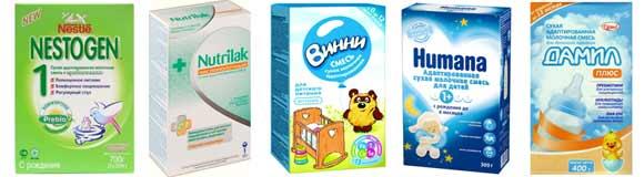 Cухая адаптированная молочная смесь