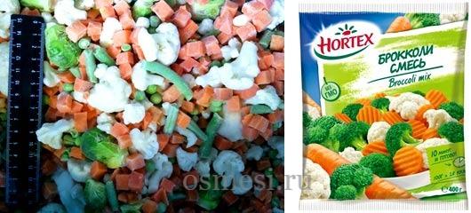 Полезны ли замороженные овощные смеси