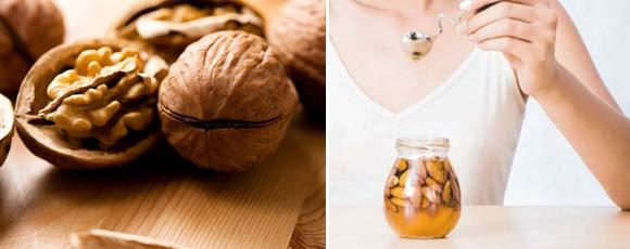 Витаминная смесь сухофрукты орехи мед