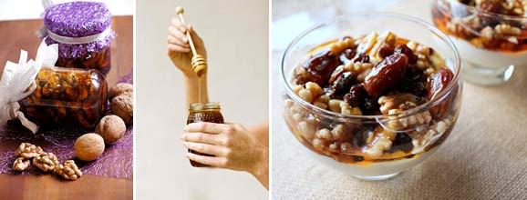 Как приготовить витаминную смесь с медом
