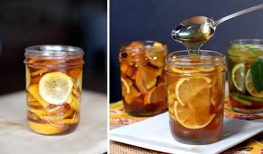 Рецепты витаминной смеси с лимоном