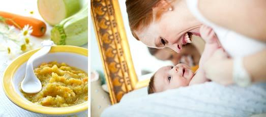 Смешанное кормление младенца