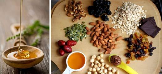 Витаминная смесь с медом для мужчин