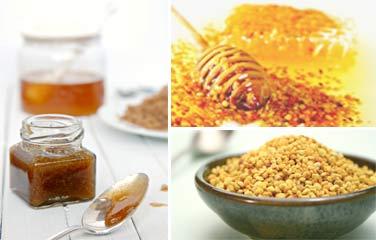 Как смешать пыльцу с медом